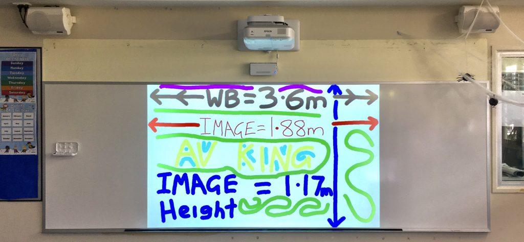 Overhead projector